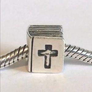 790261 Retired Pandora Bible Charm